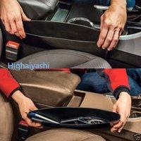 Wholesale 2Pc Black Car Auto Accessories Seat Seam Storage Box Bag Phone Holder Organizer
