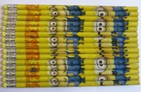school supplies - Pack Despicable Me students pencil Stationery School supplies Christmas Gifts