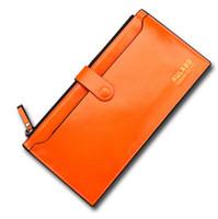 Wholesale 2015 New ultrathin High Quality Women s fashion Men Women Wallet PU leather Ultra thin Coin Purse Men handbags business card holder Woman A0