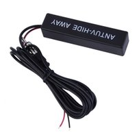 amplify amps - Car Antenna Radio AM FM Hidden Amplified Antenna Signal Amp Amplifier Booster Windshield Mount Antenna Aerials hot selling