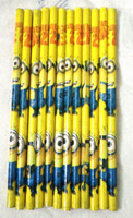 Wholesale Pack Despicable Me students pencil Stationery School supplies Christmas Gifts