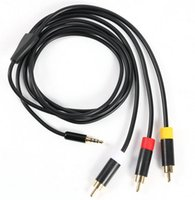 Cheap Composite Games Host AV Plug Cable Black Copper Wire for E vision 360 Host Computer