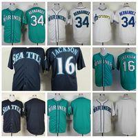 austin black - Newest Seattle Mariners Baseball Jerseys Felix Hernandez Jersey Ichiro Suzuki Austin Jackson Jersey Blue Green White