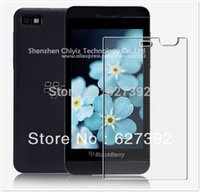 bb screen protector - x High Quality Clear Glossy Screen Protector Film Guard Cover For BlackBerry BB Z10 Z
