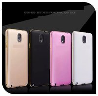 Wholesale For Fashion Metallic Paint Hard Case Back Protector For Iphone Samsung S5 S6 Note LG G4 sony