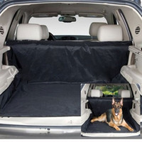 Wholesale Pets Dogs Products Car Back Seat Pet Cover Mat Blanket Hammock Cushion Protector H13363