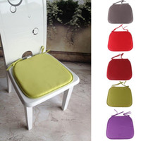 Wholesale Summer Autumn Dining Garden Patio Home Kitchen Office Chair Seat Pads Cushion Colors Drop Shipping