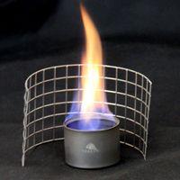 alcohol heater - Toaks Titanium Alcohol Stove Ultralight Outdoor Camping Hiking Picnic Titanium Siphon Alcohol Heater Spirit Stove Wire Frame