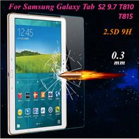 Wholesale Samsung Explosion Proof H mm Screen Protector Tempered Glass For Samsung Galaxy Tab A T350 Tab A T550 With Retail Package