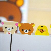 Wholesale Bookmark Diy New Cartoon Rilakkuma Index Sticker Paging Stickers Labeling Office School Supplies from China