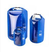 Wholesale New for L UltraLight Visual Dry sack Waterproof Bag Dry bag NH15S005 D60L