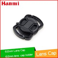 camera lens minolta - 62mm Center Pinch Snap on Front Lens Cap Cover with Lens cap holder for Canon Casio Minolta Pentax Sigma Nikon camera Lenses