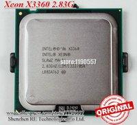 al por mayor servidor xeon de cuatro núcleos-Original X3360, Intel Xeon X3360 CPU Procesador (2.83GHz / 12M Cache / Quad Core / LGA 775 / TDP: 95W) Servidor de la CPU