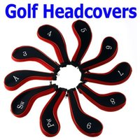 Wholesale Sale Golf Club Iron Putter Head Cover HeadCovers Protect Set Neoprene Sports Entertainment