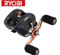 Wholesale RYOBI PLUMA bait casting fishing reels gear ratio ball bearing