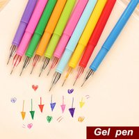 Wholesale 12 color diamond Gel pen Cute pen Stationery Novelty gift Caneta papelaria Office material escolar school supplies