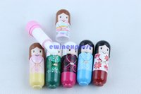 Wholesale New Cute Japan Doll Lip Balm Natural Organic Baby Girl Lip Balm Lipstick Makeup Tool Hot Sale