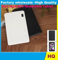 Wholesale 10 Inch Quad Core Tablet PC A33 Android GB RAM GB ROM Wifi Dual Camera ARM Cortex A7 GHz HD Capacity Screen