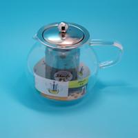 Wholesale Kung Fu Red tea maker filterHeatStainless steel linerglassTea isRed teapot