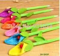 Wholesale Calla Lily Pens - Wholesale-Calla lily flower ball point penshool supplies kids' birthday party gifts wedding guest favors YZH025