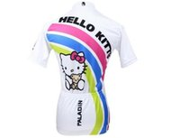 bicycle kitty - HOT KITTY Cycling Jerseys women Bicycle Shirt Mouse Sport wear cycling clothes china
