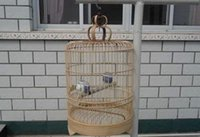 bamboo pet supplies - Large high quality handmade crafts bamboo bird cage Pet Supplies aviculture show photography ornaments ornaments