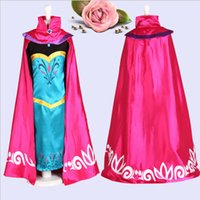 Cheap TuTu embroidered cape frozen Best Winter Ball Gown tutu kids girl party