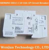 Wholesale NEW SX11 C10 A P Single Phase Circuit breaker High Quality Air break switch Miniature order lt no track