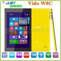 Wholesale Vido W8C Windows Tablet PC Intel Z3735 Bit Quad Core GHz inch x800 IPS Screen GB RAM GB ROM MP Builti in G WCDMA HDMI