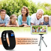 Wholesale Smart Healthy Bracelet Wristband with Pedometer Sleep Monitoring Tracking Calorie Remote Capture Compatible for Android and IOS