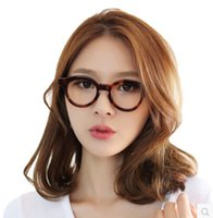 animal radiation - Hot pLAtOy star with hand made radiation plate retro round glasses frame glasses frames myopia female