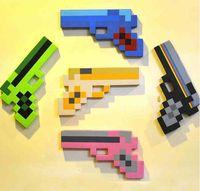 weapons - Cartoon weapons EVA Foam handgun Toys For Kids Cartoon colors Weapon models Children game gift