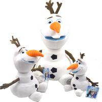 baby kids pendants - OLAF Plush Toys Doll CM CM Brinquedos Snowman Pelucia Olaf Peluche Stuffed Plush Baby Boys Girls Kid Children Christmas Gift
