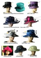 Sinamay Hats church hats fashion - NEW fashion sinamay hat sell in different style and colors ideal for church wedding races party kentucky derby ascot
