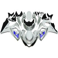 Wholesale Fairings for Suzuki GSXR K9 GSX R1000 Abs plastic Motorcycle Full Fairing Kit Silver