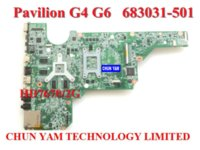 Wholesale Original laptop motherboard for HP Pavilion G4 G6 G4 G6 Notebook PC systemboard Days Warranty