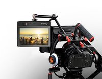 Wholesale Aputure VS V Screen quot LCD Field Adv HD Monitor Kit Ultra thin Camera Video Monitor HDMI AV Audio L R For DSLR Camera E2082A