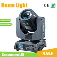 Wholesale Moving Head Stage Light Sharpy R W or R W AC110 V Beam Light For Disco Bar Club Concert