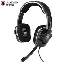Wholesale Professional Gaming Headset Headphones SA USB Surround Sound Game headphone for LOL DOTA CS CF PS4 PS3 Xbox zl736
