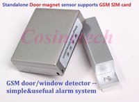 auto trigger system - GSM850 mhz Access GSM door Alarm Voice Trigger Wireless auto dial Detect Security Door window LBS Alarm System