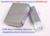 Wholesale GSM850 mhz Access GSM door Alarm Voice Trigger Wireless auto dial Detect Security Door window LBS Alarm System