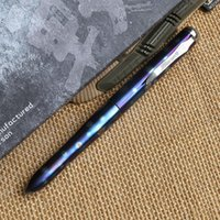 Fountain Pens Mixed Color Black AAA quality best china Carson WAR ARMOR Cone of Cold anodized TC4 titanium tactical pen camping outdoor survival practical EDC MULTI utility