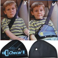 Wholesale Safe fit thickening car safety belt adjust device baby child safety belt protector seat belt positioner years