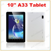 Wholesale Cheapest Inch Quad Core Tablet PC A33 Android GB RAM GB Storage Wifi Dual Camera ARM Cortex A7 GHz MQ10