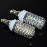 Wholesale HOT E14 SMD Led Light V Corn Bulbs LEDs Lamps Max W Diamond Surface Candle Chandelier Lighting pcsTop selling
