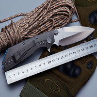Wholesale Wolf Tatoo Microtech Folding Knife Bearing Washer Tactical Knife Microtech DOC TC4 Titanium Alloy Handle D2 Blade Knives Outdoor Tool