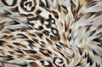 Wholesale Nylon net fabric printed cloth fabric leopard print summer clothes fabric a1364