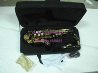 Wholesale Selmer Black Nickel Tenor Sax Saxophone with Case Musical instruments made in China
