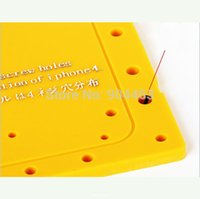 air free boards - Precision Screw Holes Distribution Board Holder for iPhone G or for iPhone s Yellow via Air Mail