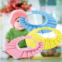 Wholesale 1pcs Baby Shower wash hair Shield Hat cap Protects your baby or toddler s eyes YKS